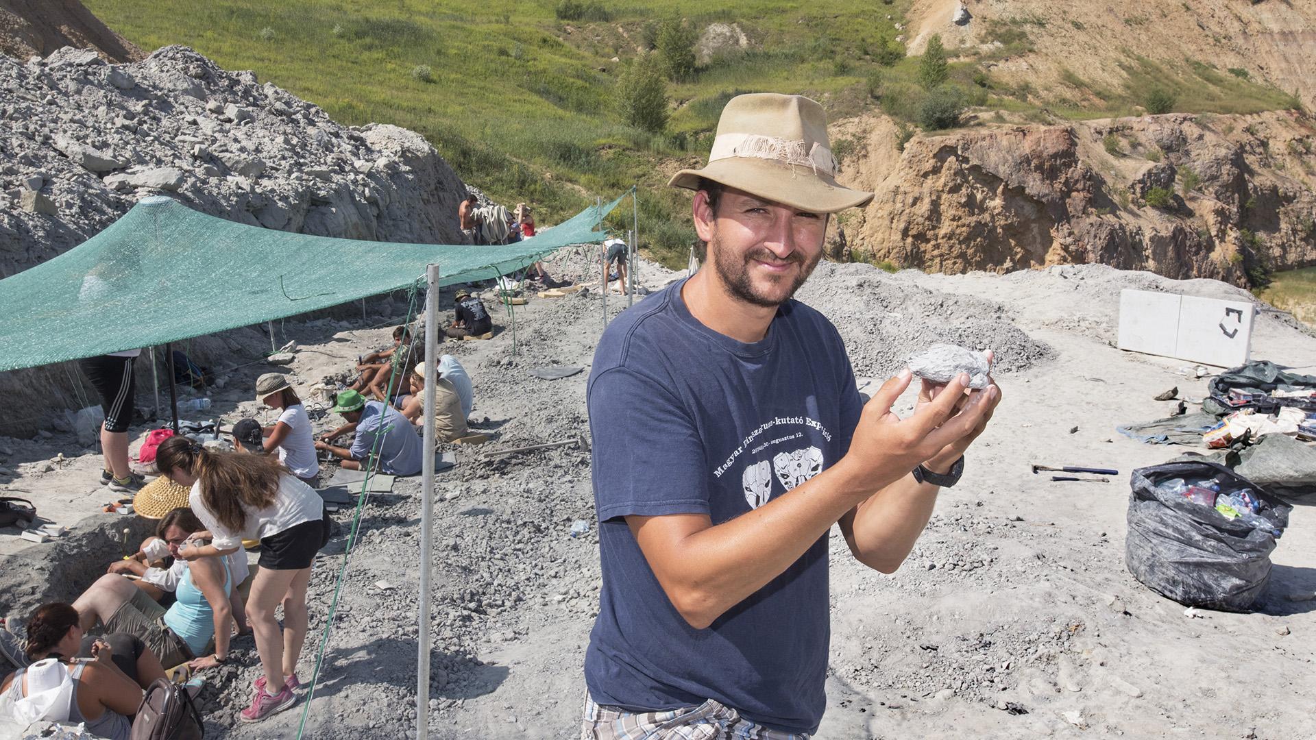 dinoszaurusz dr. ősi attila elte őslénykutató riport
