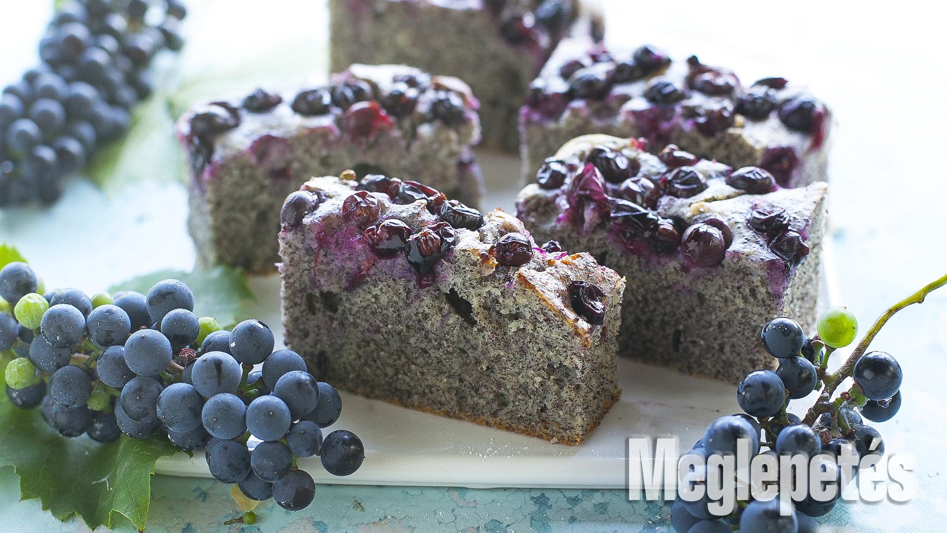 mákos sütemény otelló-szelet receptek szőlős sütemény vrábel kriszta
