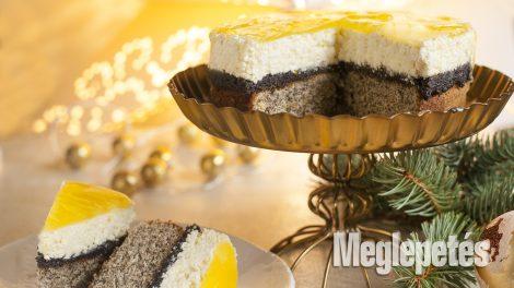 darált mák habfixáló konyha liszt narancs porcukor ráma recept sütemény sütőpor tej tejszín tojás tortazselé túró vrábel kriszta