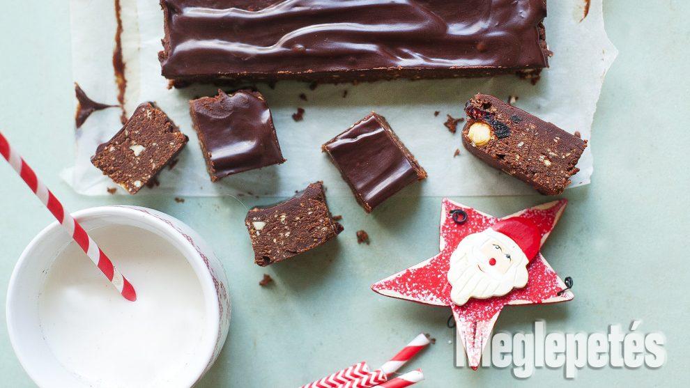 áfonya csokis kocka étcsoki étolaj kakaópor keksz kesudió konyha lekvár mazsola sütés nélkül tej vaj víz vrábel kriszta