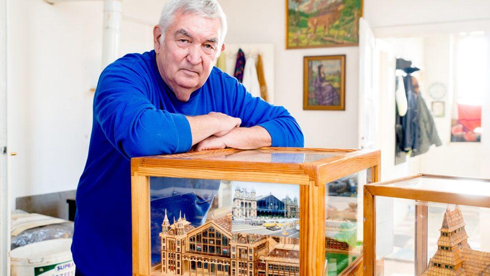 bakács tibor gyufából épít hobbi körmendi ferenc türelmes ember