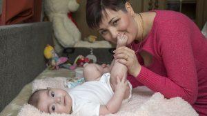 17. transzplantált szülőtől született baba életmentés papp noémi soltészné závec georgina szervbeültetés transzplantáció új máj