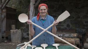 bükk fahasáb fakanál kézzel készült fakanál margit néni mátrakeresztes nágel józsefné papp noémi