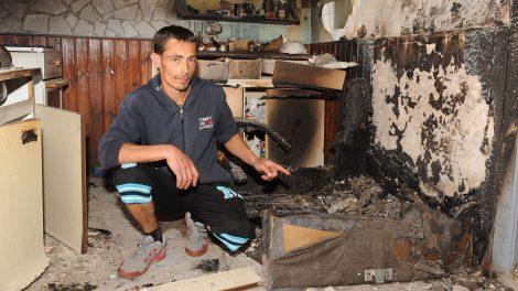égő ház életmentés hős hős családapa kiskunmajsa lángoló épület virág márton