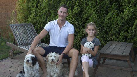 családapaszerep nemzetközi élsportoló olimpiai és világbajnok ezüstérmes kajakos olimpikon kajakos pauman dániel szurovecz kitti család