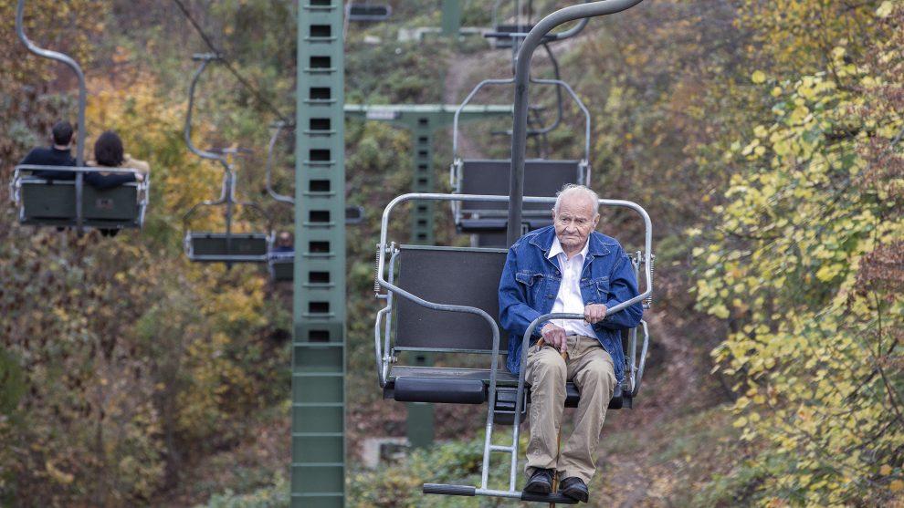 95 éves szülinap bakács tibor bandi bácsi dokumentumfilm háború hochstein andrás katonatiszt libegő tervező vadászrepülős frankó endre