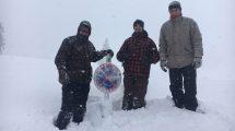 extrém sportok hó fogsága hockar lavinaveszély osztrák hegyek síelés sípálya síparadicsom ványik dóra zimmermann józsef