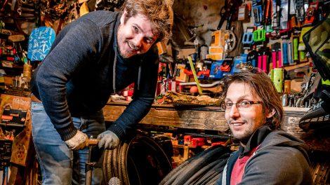 adomány adománybringa alkatrészek b. molnár márk bicikli hulladék inas műhely rácz kálmán ridekálmán bolt segítségnyújtás