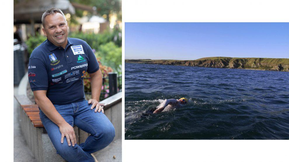 áramlat b. molnár márk csípés kihűlés lelkierő mányoki attila oroszlánmedúza tenger természet