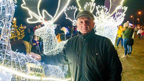 debreczeni csilla fénypark finnország guinness-rekord hóember karácsony kretovics istván lappföld mikulás rénszarvas szán ünnepi hangulat világító rénszarvas