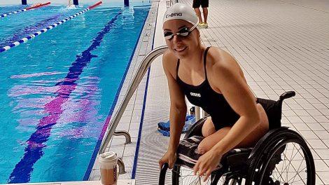 edzésterv illés fanni kerekesszékes szépségverseny málnai istván paralimpikon világbajnok úszó paraúszó válogatott sport úszás ványik dóra világbajnok úszó