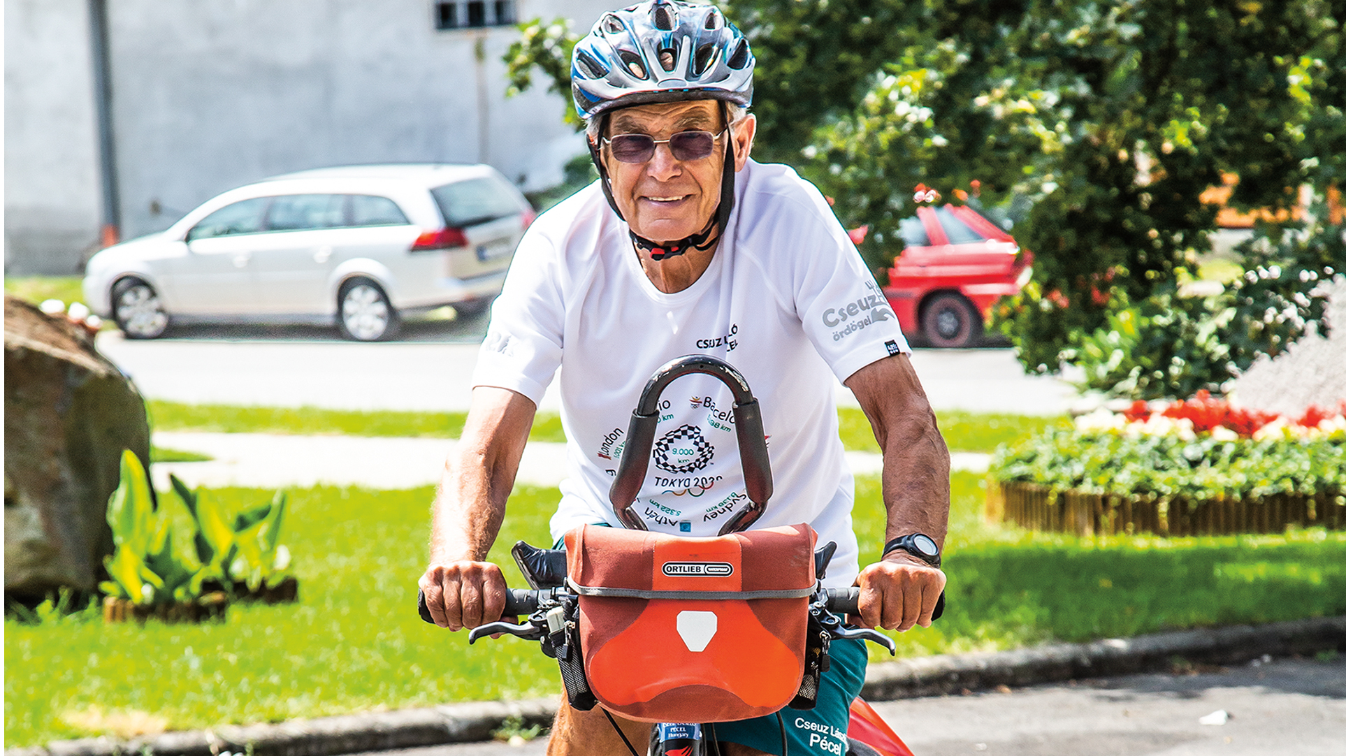 balaton barcelonai olimpia bicikli cseuz lászló debreczeni csilla edzés gyógytorna koronavírus ötkarikás játék rehabilitáció szobabicikli térdműtét tokió triatlon