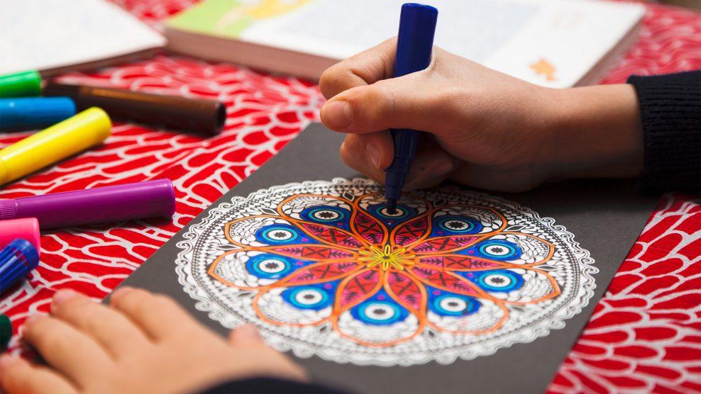 ajándék ázsiai kultúra bata kata egészség lelki feltöltődés mandala meditáció öröm szellemi és rituális szimbólum univerzum vizuális ábrázolás