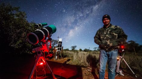 asztrofotós b. molnár márk fényszennyezés fotózás namíbia nasa schmall rafael távcső zselici csillagpark