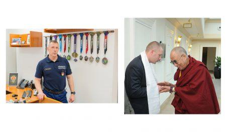 buddhista vezető dalai láma debreczeni csilla félelemérzet fizikai alkalmassági karate köztársasági őrezred pszichológiai alkalmassági sport személyvédelmi szakember