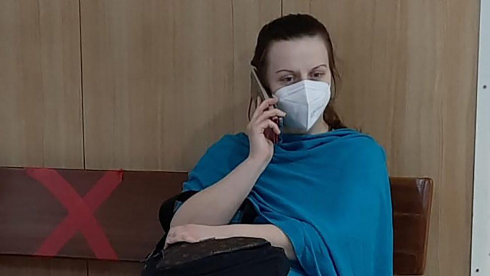 belicza bea fodor kata halálfélelem india járványhelyzet karantén koronavírus krisna maszk oxigénmaszk reinkarnáció