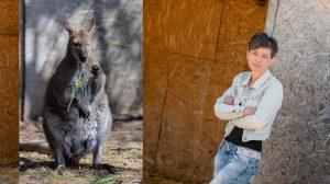 bennett-kenguru hegedűs lászlóné márti kenguru kenguru kifutó kenguru-szafari terápiás állat debreczeni csilla