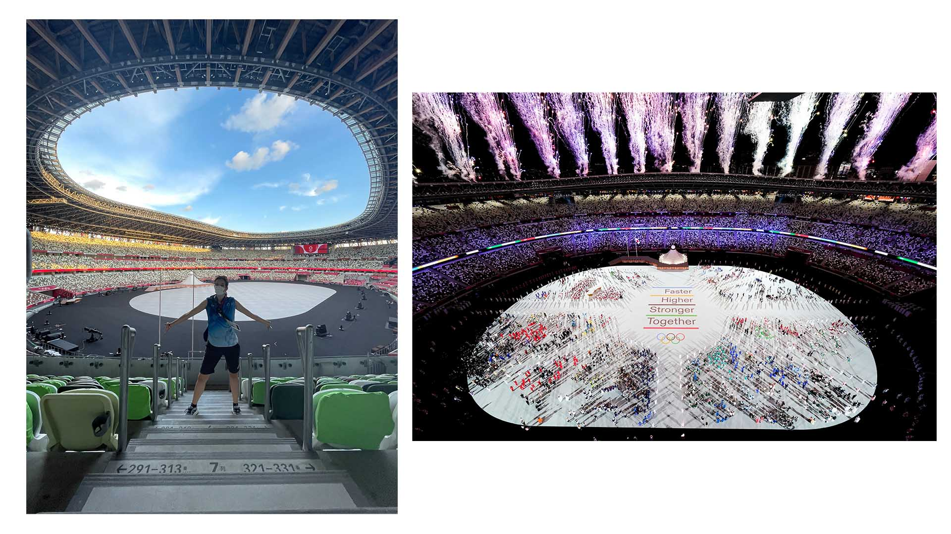 belicza bea fertőzésveszély japán japán művészet koronavírus maszkviselés molnár julianna olimpia önkéntes ösztöndíjas ötkarikás rendezvény tokió VIP páholy
